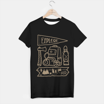 Miniature de image de Explore T-shirt regular, Live Heroes