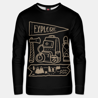 Thumbnail image of Explore Unisex sweater, Live Heroes