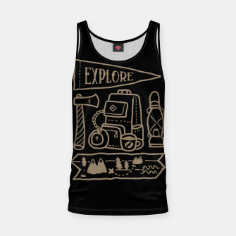 Thumbnail image of Explore Tank Top, Live Heroes