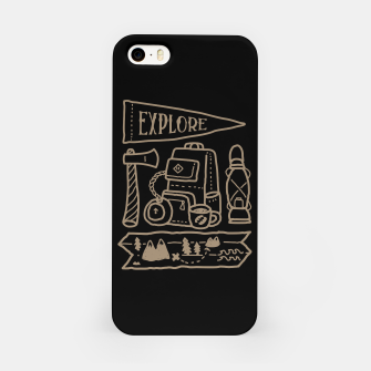 Miniature de image de Explore iPhone Case, Live Heroes