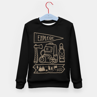 Miniature de image de Explore Kid's sweater, Live Heroes