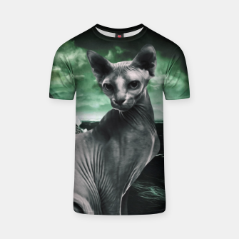 Thumbnail image of Sphynx God Camiseta, Live Heroes