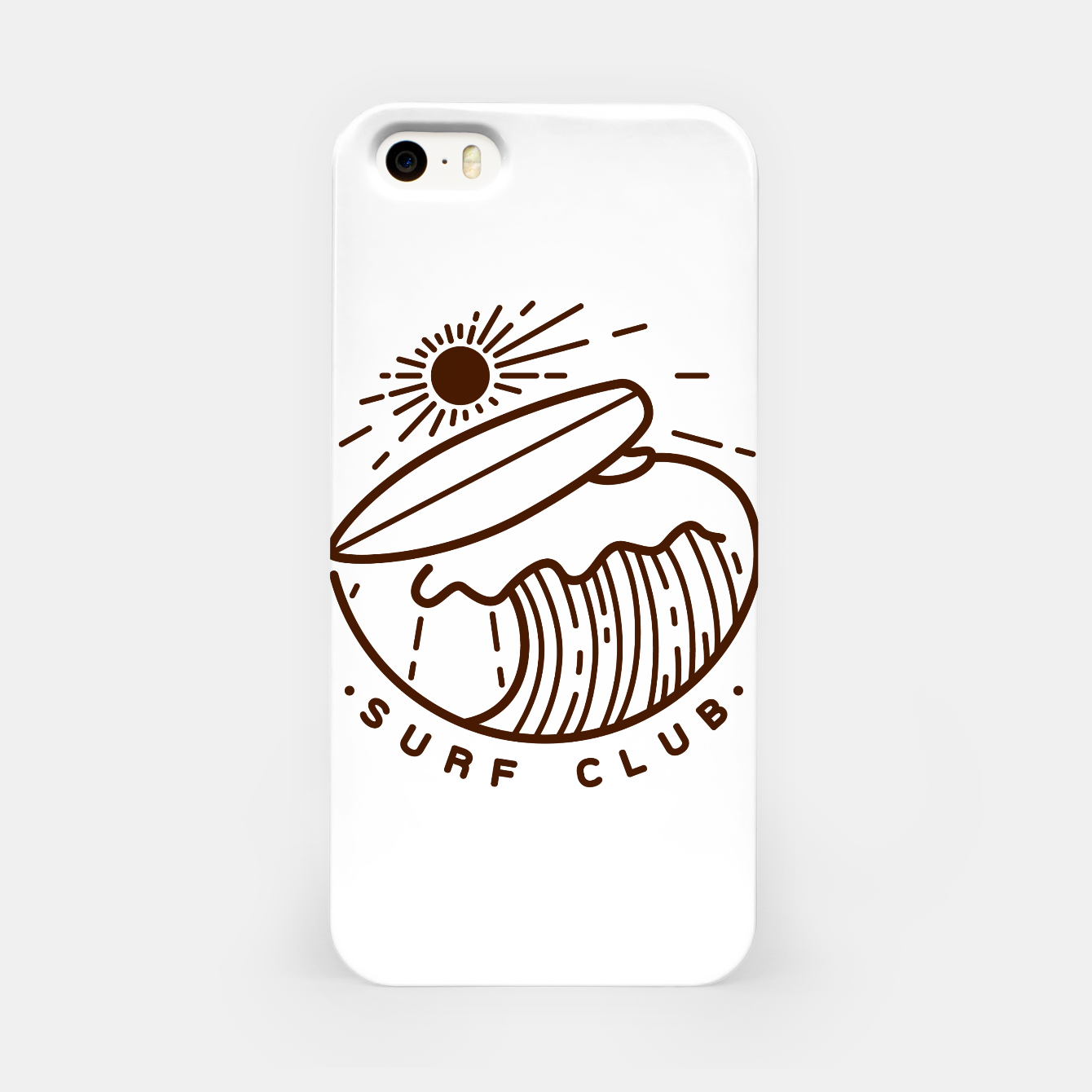 Image of Surf Club iPhone Case - Live Heroes