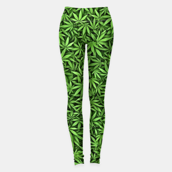 Thumbnail image of Just green weed Leggings, Live Heroes
