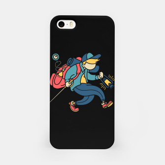 Miniatur Happy Hiker iPhone Case, Live Heroes
