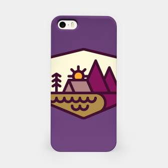 Miniatur Nature Lover iPhone Case, Live Heroes