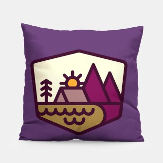 Miniatur Nature Lover Pillow, Live Heroes
