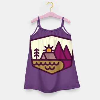 Miniatur Nature Lover Girl's dress, Live Heroes