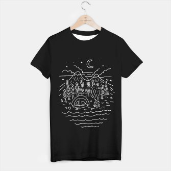 Imagen en miniatura de The Great Outdoors T-shirt regular, Live Heroes