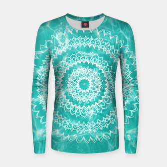 Miniaturka Pool Dream Mandala #1 #water #boho #decor #art  Frauen sweatshirt, Live Heroes