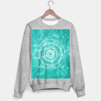 Miniaturka Pool Dream Mandala #1 #water #boho #decor #art  Sweatshirt regulär, Live Heroes