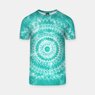 Miniaturka Pool Dream Mandala #1 #water #boho #decor #art  T-Shirt, Live Heroes