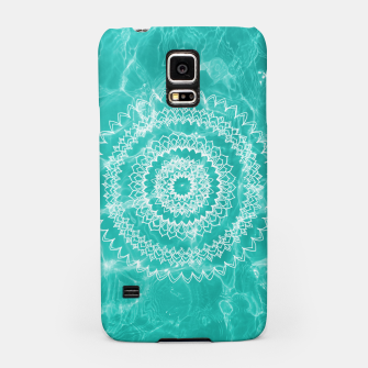 Miniaturka Pool Dream Mandala #1 #water #boho #decor #art  Handyhülle für Samsung, Live Heroes