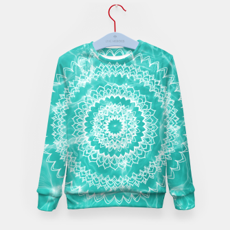 Miniaturka Pool Dream Mandala #1 #water #boho #decor #art  Kindersweatshirt, Live Heroes