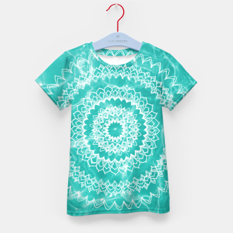 Miniaturka Pool Dream Mandala #1 #water #boho #decor #art  T-Shirt für kinder, Live Heroes