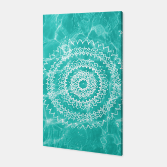 Miniaturka Pool Dream Mandala #1 #water #boho #decor #art  Canvas, Live Heroes