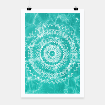 Miniaturka Pool Dream Mandala #1 #water #boho #decor #art  Plakat, Live Heroes