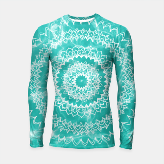 Miniaturka Pool Dream Mandala #1 #water #boho #decor #art  Longsleeve rashguard, Live Heroes