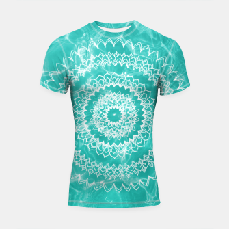 Miniaturka Pool Dream Mandala #1 #water #boho #decor #art  Shortsleeve rashguard, Live Heroes