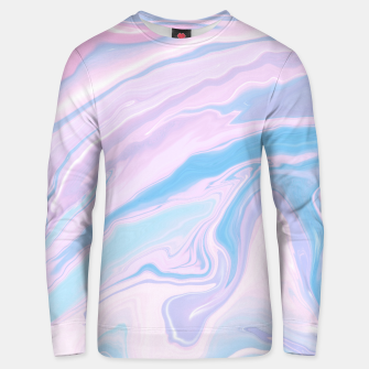Miniaturka Pastel Unicorn Marble Dream #1 #pastel #decor #art Unisex sweatshirt, Live Heroes