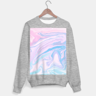 Miniaturka Pastel Unicorn Marble Dream #1 #pastel #decor #art Sweatshirt regulär, Live Heroes