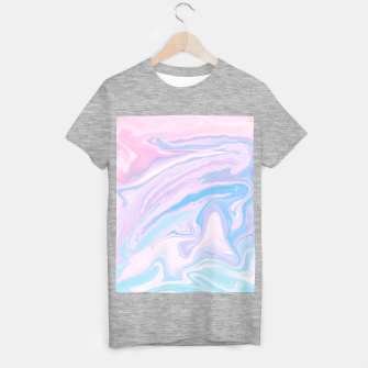 Miniaturka Pastel Unicorn Marble Dream #1 #pastel #decor #art T-Shirt regulär, Live Heroes