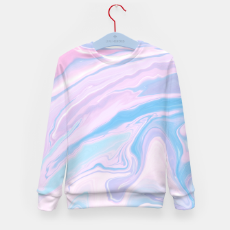 Miniaturka Pastel Unicorn Marble Dream #1 #pastel #decor #art Kindersweatshirt, Live Heroes