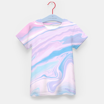 Miniaturka Pastel Unicorn Marble Dream #1 #pastel #decor #art T-Shirt für kinder, Live Heroes