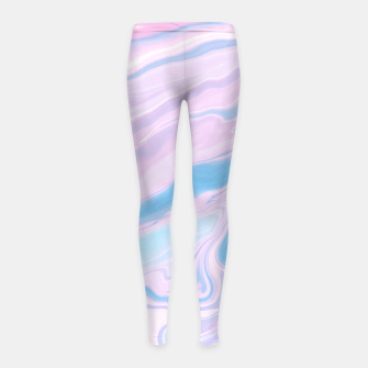 Miniaturka Pastel Unicorn Marble Dream #1 #pastel #decor #art Kinder-Leggins, Live Heroes