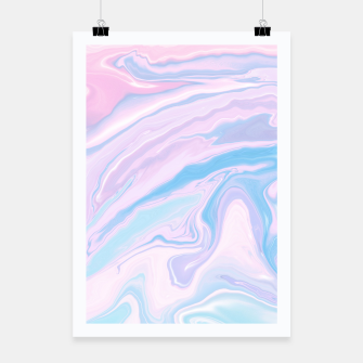 Miniaturka Pastel Unicorn Marble Dream #1 #pastel #decor #art Plakat, Live Heroes