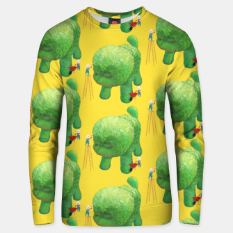 Thumbnail image of Topiary Dog Unisex sweater, Live Heroes