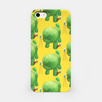 Thumbnail image of Topiary Dog iPhone Case, Live Heroes