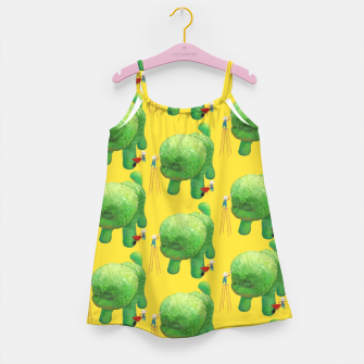 Thumbnail image of Topiary Dog Girl's dress, Live Heroes