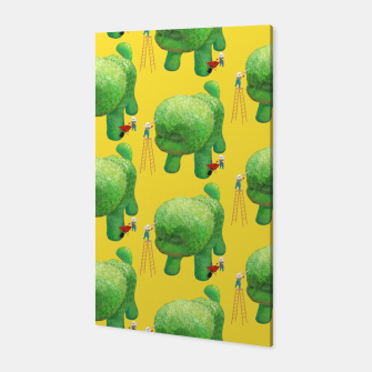 Thumbnail image of Topiary Dog Canvas, Live Heroes