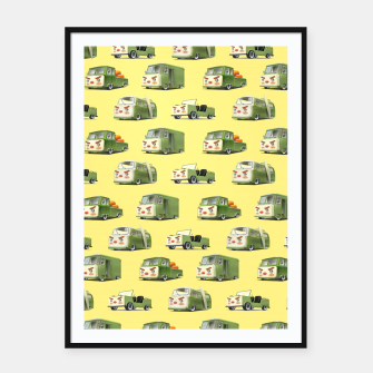 Thumbnail image of Cars Framed poster, Live Heroes