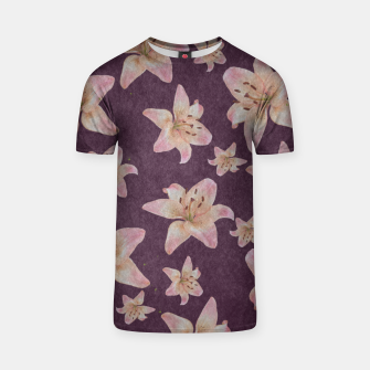 Thumbnail image of Vintage lilies T-shirt, Live Heroes