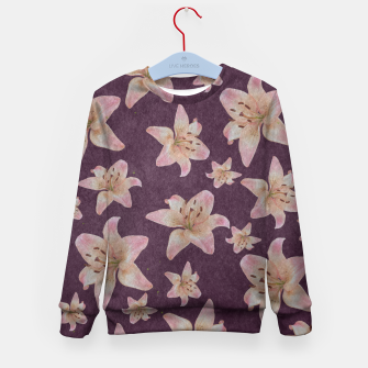 Thumbnail image of Vintage lilies Kid's sweater, Live Heroes