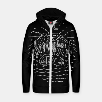 Miniatur The Great Outdoors Zip up hoodie, Live Heroes