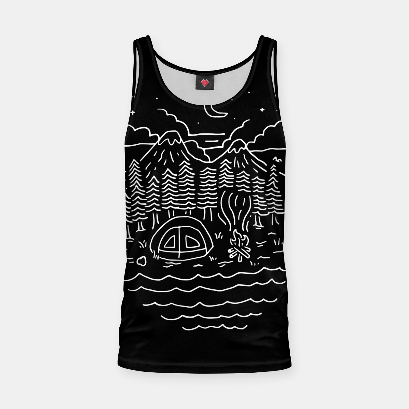 Foto The Great Outdoors Tank Top - Live Heroes