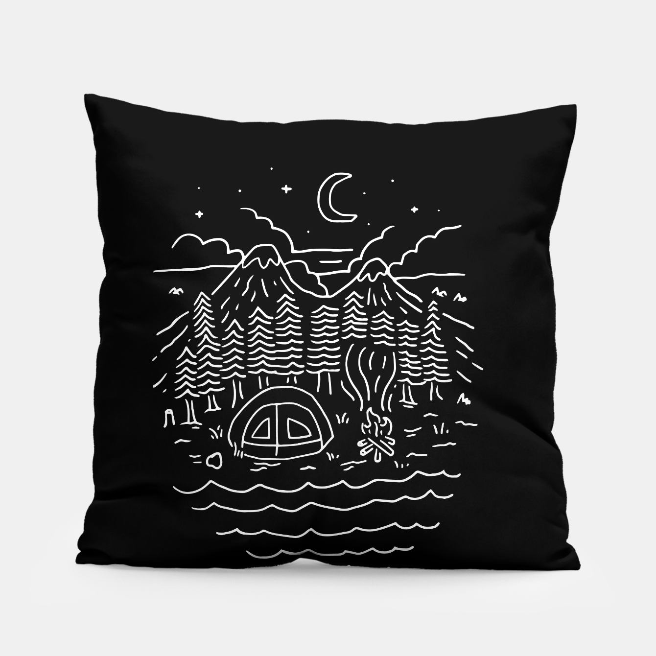Foto The Great Outdoors Pillow - Live Heroes