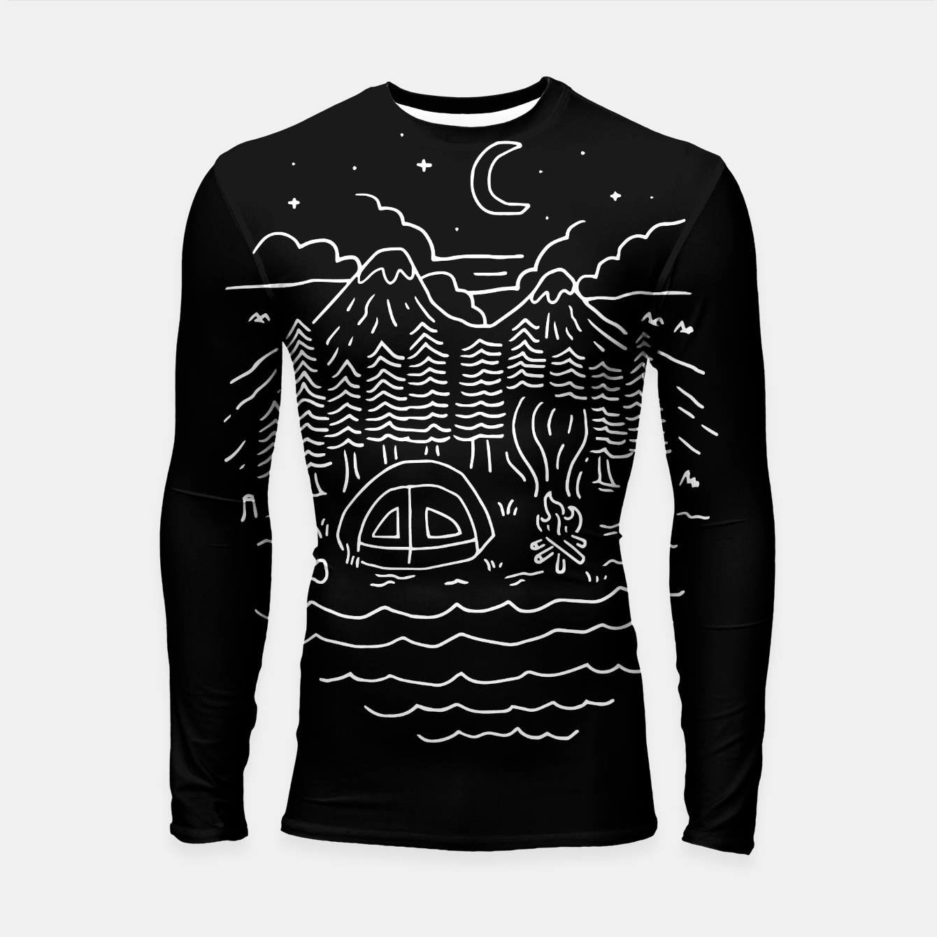 Foto The Great Outdoors Longsleeve rashguard  - Live Heroes