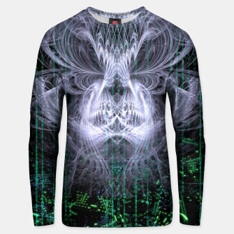 Thumbnail image of Ice Flame Matrix Unisex sweater, Live Heroes