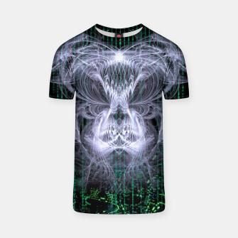 Thumbnail image of Ice Flame Matrix T-shirt, Live Heroes