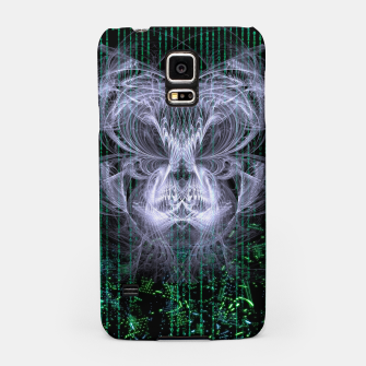 Thumbnail image of Ice Flame Matrix Samsung Case, Live Heroes