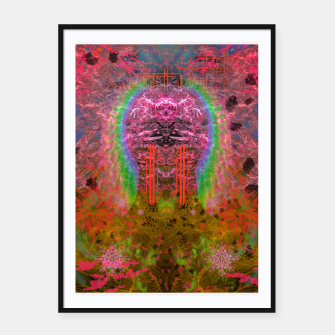 Thumbnail image of Mummified Angel Framed poster, Live Heroes