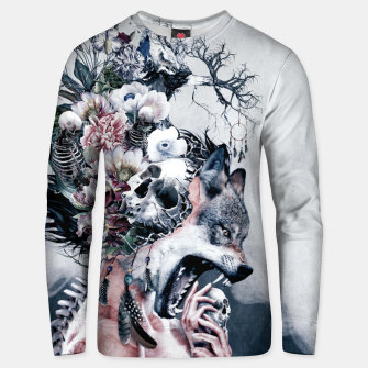 Miniatur Wolf Unisex sweater, Live Heroes