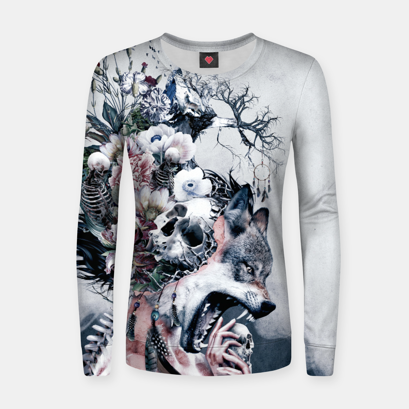 Foto Wolf Women sweater - Live Heroes