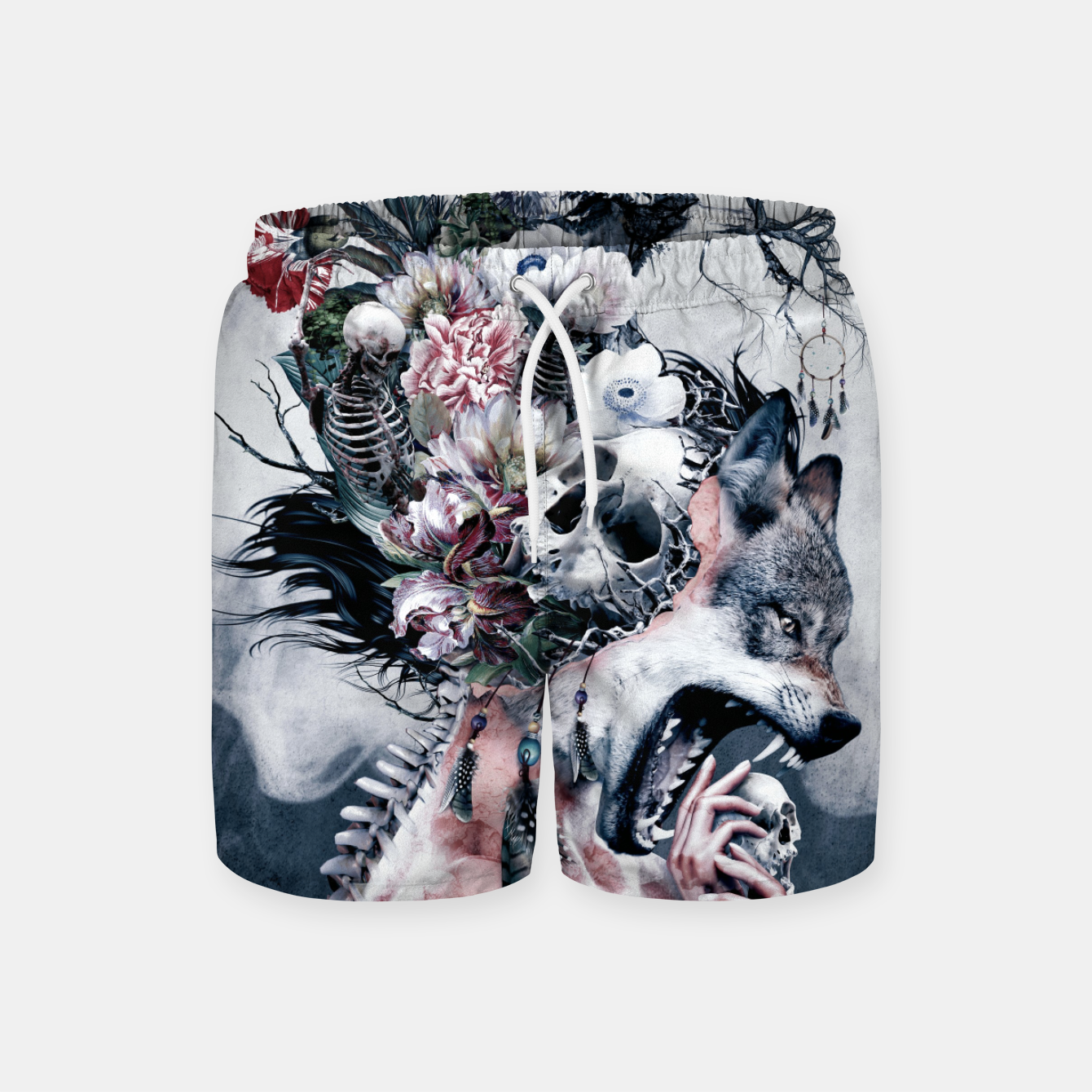 Image of Wolf Swim Shorts - Live Heroes