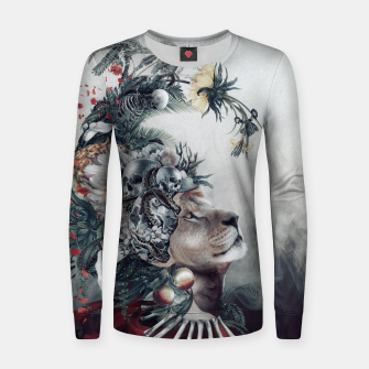 Thumbnail image of Lion Women sweater, Live Heroes