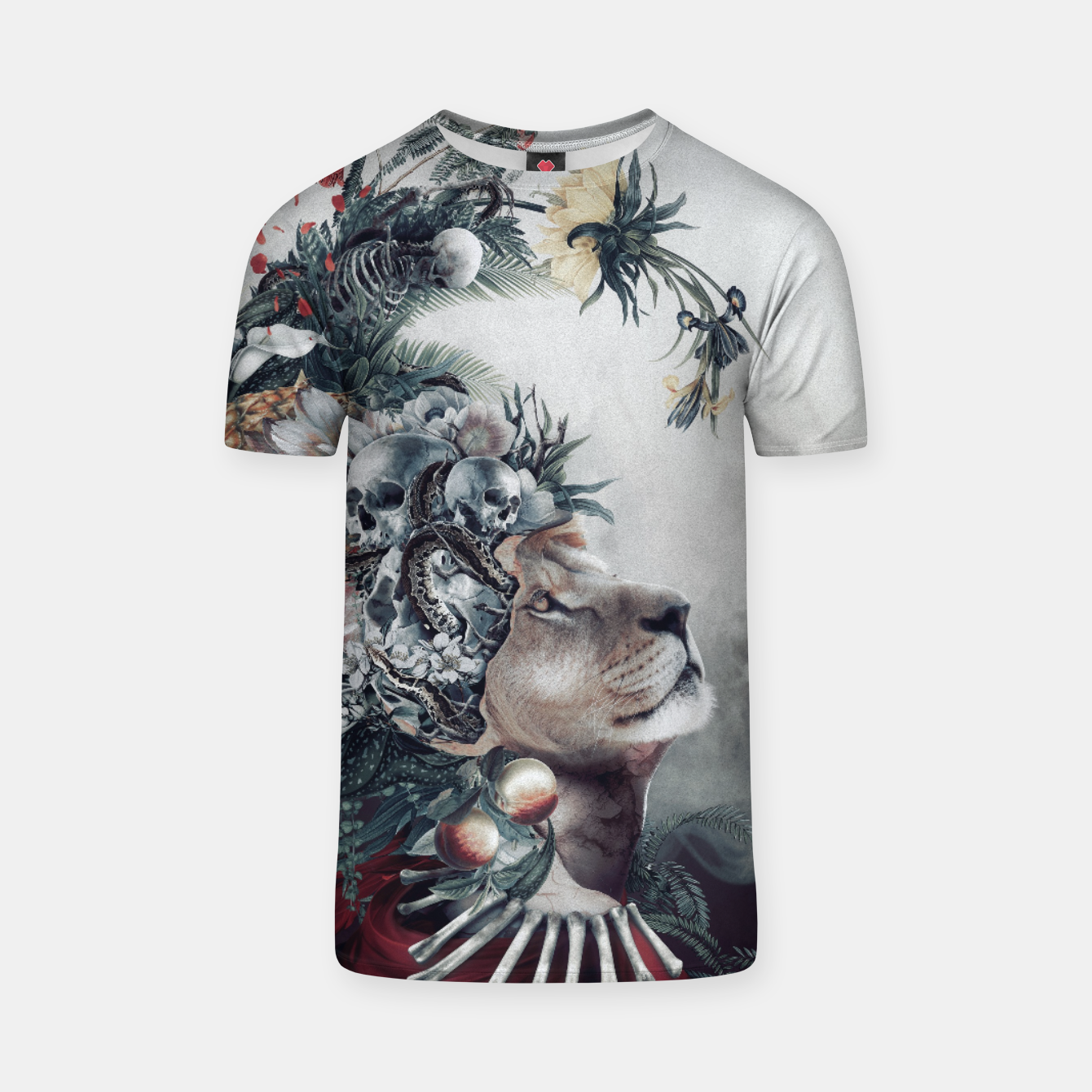 Image of Lion T-shirt - Live Heroes